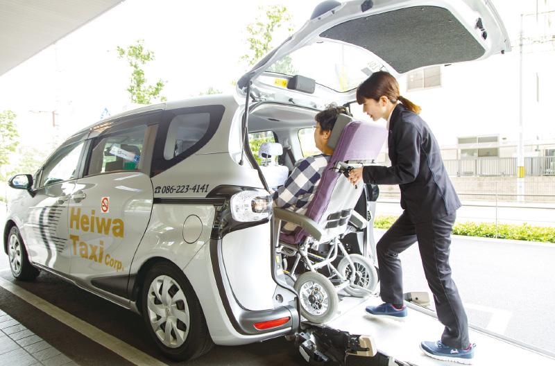 介護タクシーイメージ写真